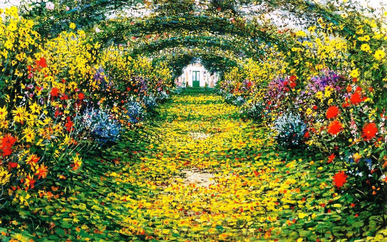 Monet Giverny Garden